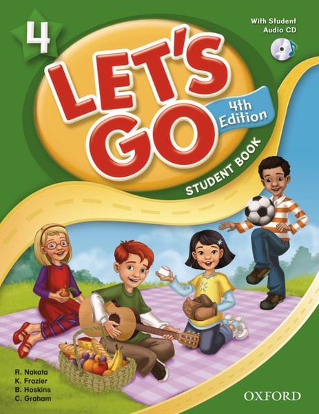 Let's Go 4TH Edition: 4 Student Book with CD Pack