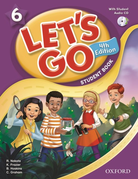 Let's Go 4TH Edition: 6 Student Book with CD Pack