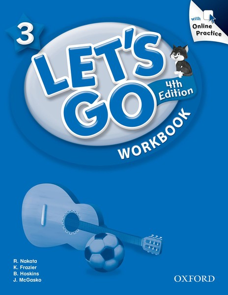 Let's Go 4TH Edition: 3 Workbook with Online Practice