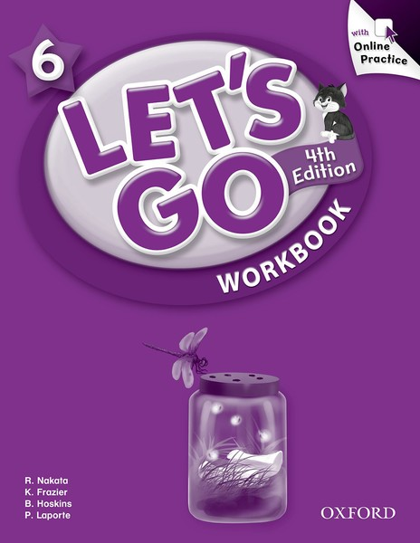 Let's Go 4TH Edition: 6 Workbook with Online Practice