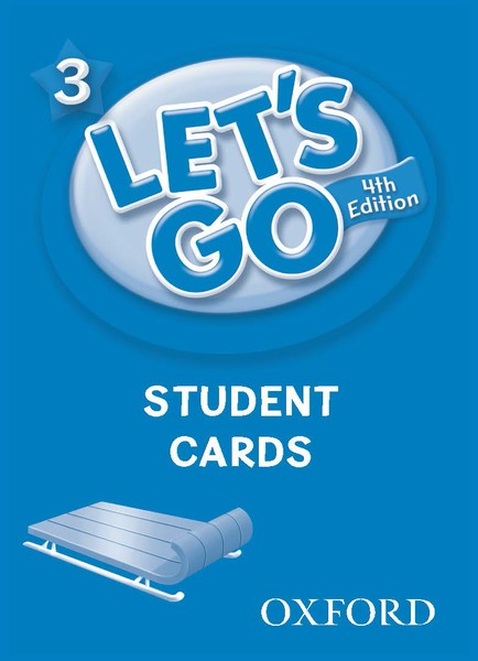 Let's Go 4TH Edition: 3 Student Cards (188)