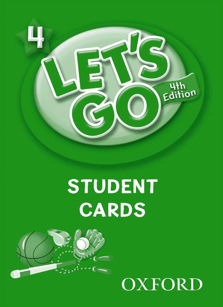 Let's Go 4TH Edition: 4 Student Cards (215)