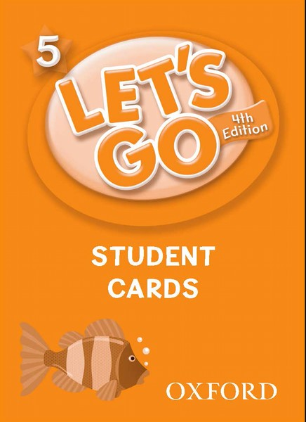 Let's Go 4TH Edition: 5 Student Cards (178)