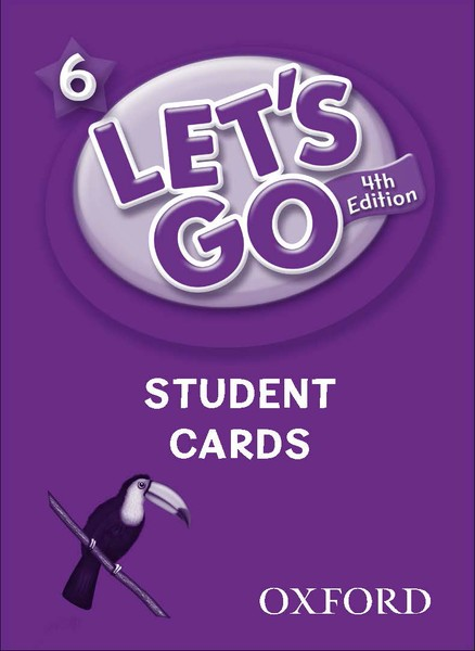 Let's Go 4TH Edition: 6 Student Cards (168)