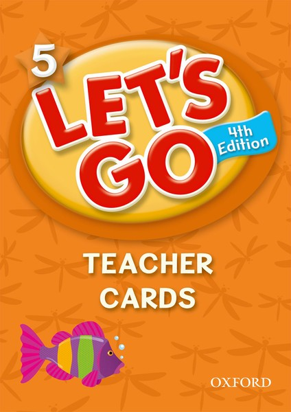 Let's Go 4TH Edition: 5 Teacher Cards (178)