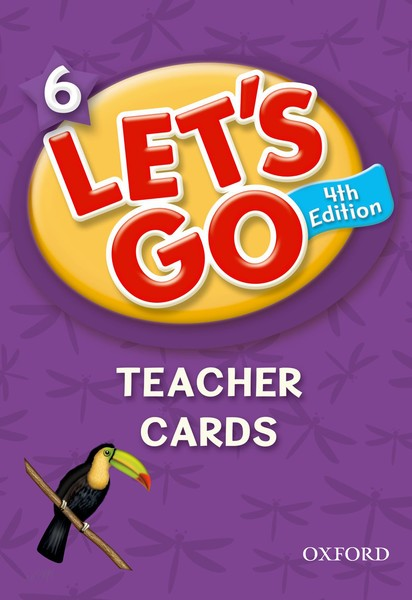 Let's Go 4TH Edition: 6 Teacher Cards (168)