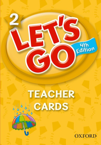 Let's Go 4TH Edition: 2 Teacher Cards (197)