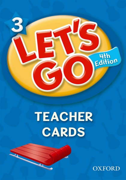 Let's Go 4TH Edition: 3 Teacher Cards (188)