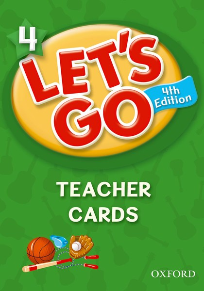Let's Go 4TH Edition: 4 Teacher Cards (215)