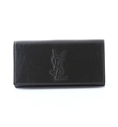 激安通販ロゴ入り長財布/Yves Saint LaurentYves Saint Laurentイヴ・サン=ローラン