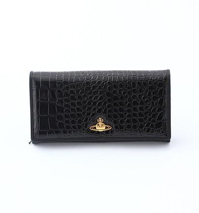 激安通販長札ファスナー財布 DERBY 1032/Vivienne Westwood...Vivienne Westwoodヴィヴィアン・ウエストウッド