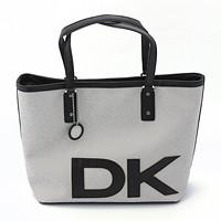 激安通販ロゴ入りトートバッグL/DKNY