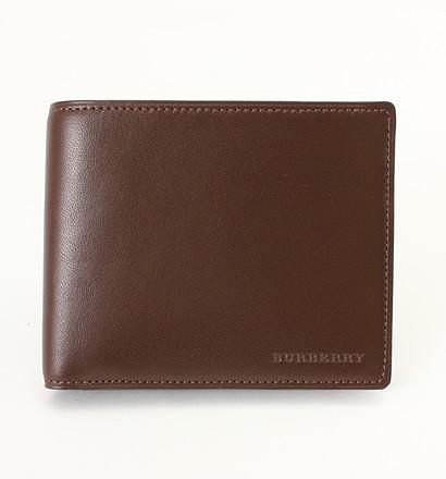 激安通販小銭入れ付き二つ折り財布/BurberryBurberryバーバリー