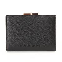 激安通販二つ折り ガマ口付き財布/Burberry