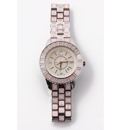 激安通販クリスタル腕時計 44Pダイヤ 33mm/Christian DiorChristian Diorクリスチャン・ディオール