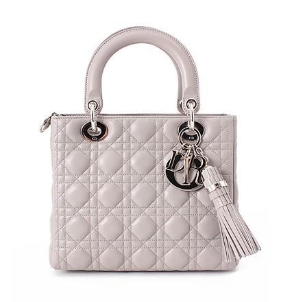 激安通販NY限定モデル LADY DIOR QUILTED CANNAGE LAMB...Christian Diorクリスチャン・ディオール