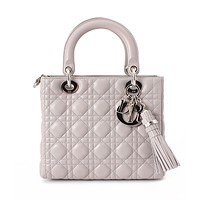 激安通販NY限定モデル LADY DIOR QUILTED CANNAGE LAMB...