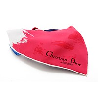 激安通販ニューヨーク店オープン記念限定スカーフ/Christian Dior