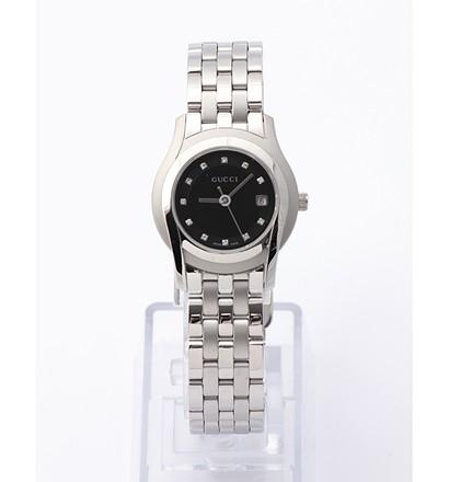 激安通販レディース腕時計 ブラック文字盤 ダイヤ11石入/GUCCIGUCCIグッチ