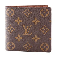 激安通販ポルトフォイユ・マルコ二つ折り 小銭付財布/LOUIS VUITTON