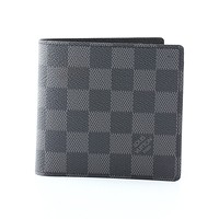 激安通販ポリトフォイユ・マルコ 二つ折り 小銭付財布/LOUIS VUITTON
