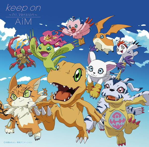 Keep on〜tri.Version〜(初回限定盤)(DVD付)/AiM