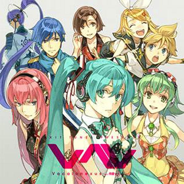 EXIT TUNES PRESENTS Vocalonexus(ボカロネクサス)feat.初音ミク ジャケットイラスト:左