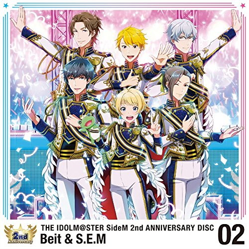 THE IDOLM@STER SideM 2nd ANNIVERSARY DISC 02/Beit&S.E.M