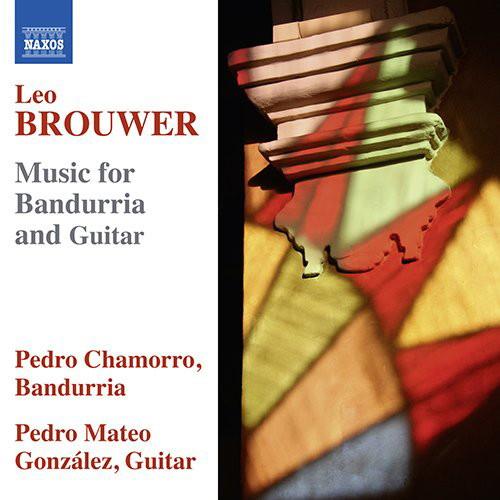 シャモロ/ゴンザレス/レオ・ブローウェル:バンドゥリアとギターのための作品集