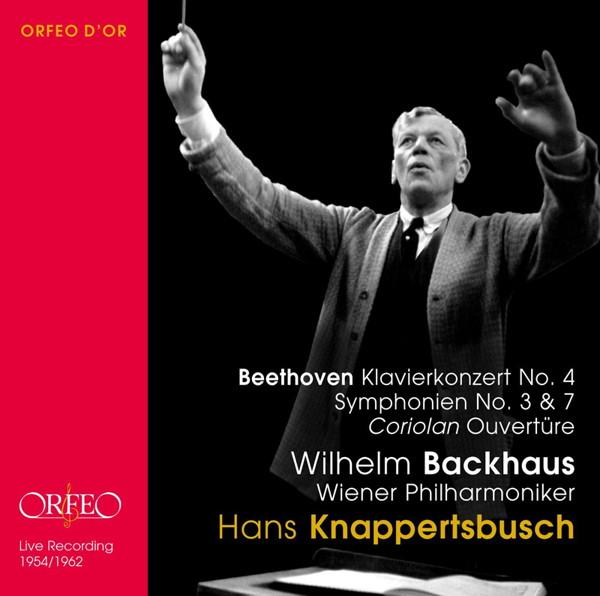 クナッパーツブッシュ/ベートーヴェン:ピアノ協奏曲第4番/交響曲第3番&7番 他
