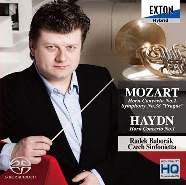 バボラーク/モーツァルト:ホルン協奏曲第2番、交響曲第38番「プラハ」ハイドン:ホルン協奏曲第1番