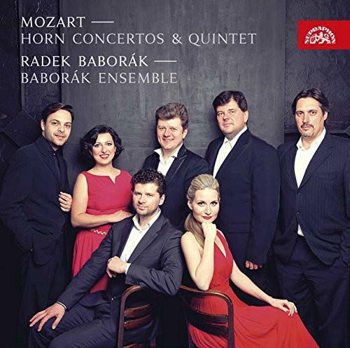 バボラーク/モーツァルト:ホルン協奏曲(室内楽版)