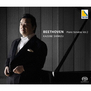 清水和音/ベートーヴェン:ピアノ・ソナタ集 Vol. 2 「ワルトシュタイン」「テンペスト」「告別」