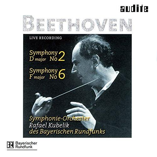 クーベリック/ベートーヴェン:交響曲第2番&第6番「田園」