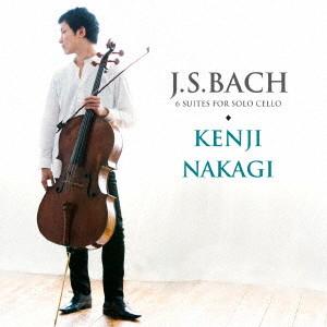 中木健二/バッハ:無伴奏チェロ組曲 BWV.1007-12(全曲)