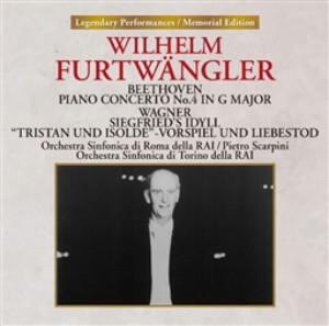 フルトヴェングラー/ベートーヴェン:ピアノ協奏曲第4番/ワーグナー:ジークフリート牧歌