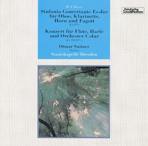 スウィトナー/モーツァルト:管楽器のための協奏交響曲/フルートとハープのための協奏曲