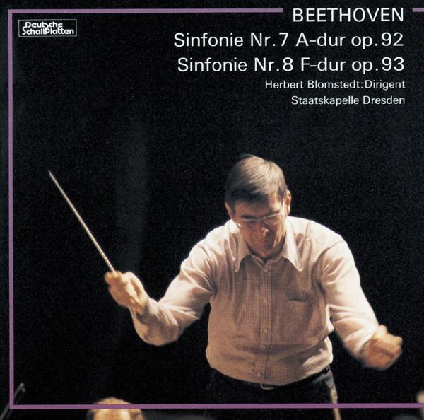 ブロムシュテット/ベートーヴェン:交響曲第7番&第8番