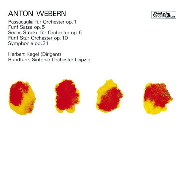 ケーゲル/ウェーベルン:管弦楽のための作品集