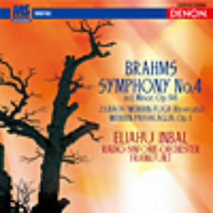 インバル/ブラームス:交響曲第4番/ウェーベルン:パッサカリア、他