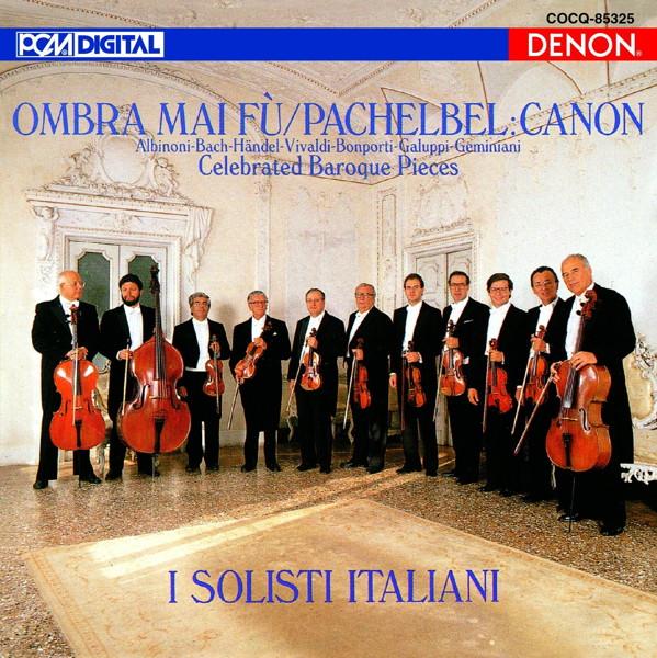 イタリア合奏団/UHQCD DENON Classics BEST バロック名曲集
