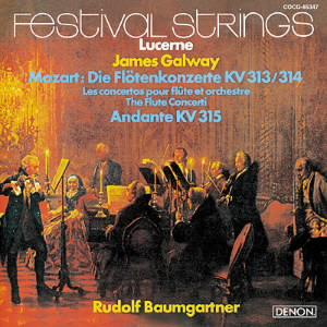 ゴールウェイ/UHQCD DENON Classics BEST モーツァルト:フルート協奏曲第1番&第2番、アンダンテ