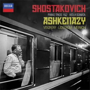アシュケナージ/ショスタコーヴィチ:ピアノ三重奏曲、ヴィオラ・ソナタ