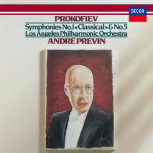 プレヴィン/プロコフィエフ:交響曲第1番&第5番、スキタイ組曲「アラとロリー」