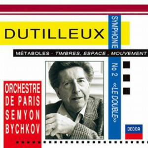 ビシュコフ/デュティユー:交響曲第2番「ル・ドゥブル」、メタボール、他