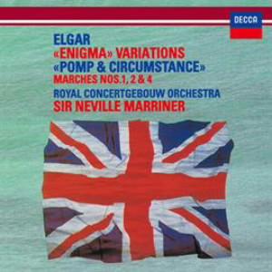 マリナー/エルガー:エニグマ変奏曲、行進曲「威風堂々」第1番&第2番&第4番