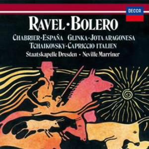 マリナー/ラヴェル:ボレロ/チャイコフスキー:イタリア奇想曲、他
