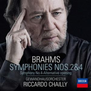 シャイー/ブラームス:交響曲第2番&第4番