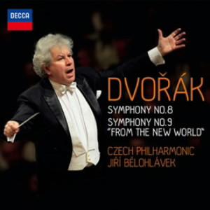 ビエロフラーヴェク/ドヴォルザーク:交響曲第8番&第9番「新世界より」