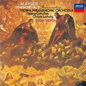 メータ/マーラー:交響曲第2番「復活」
